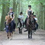 Buitenritten te paard
