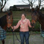 Onze paarden - Kenza en Albeh